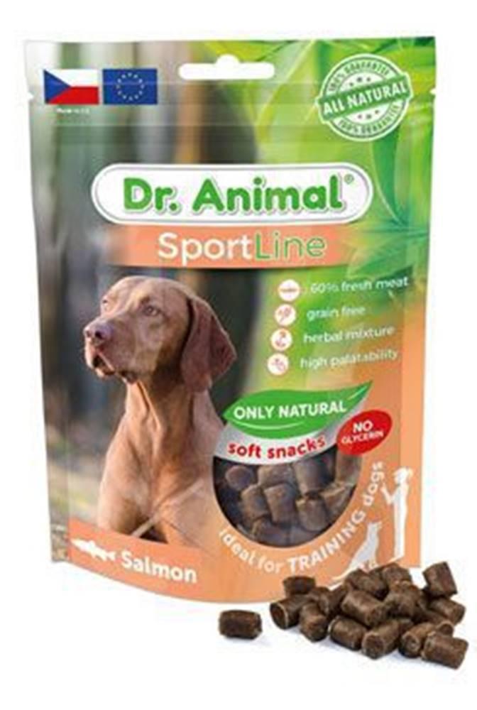 Ostatní Pochoutka Dr. Animal Sportline losos 100g