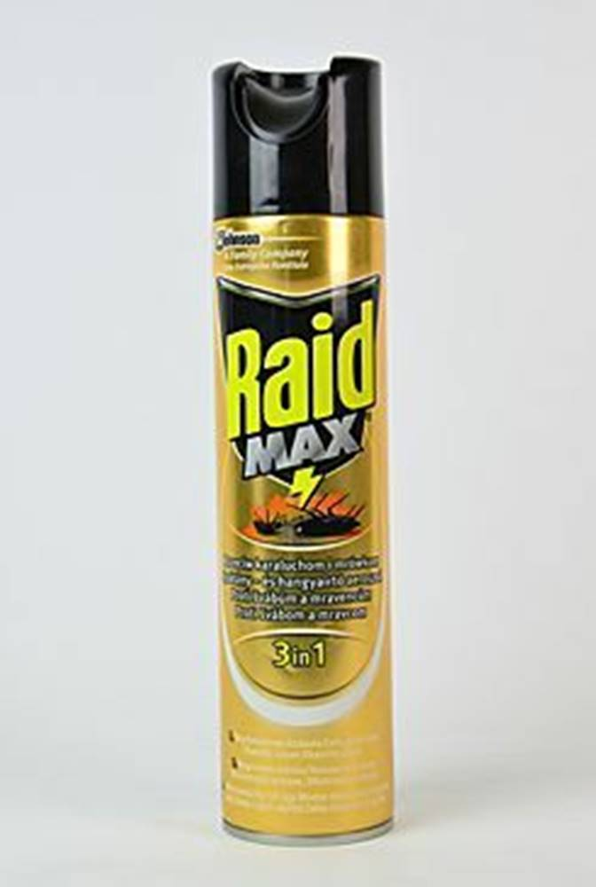 Raid Raid Max spray proti lezoucímu hmyzu 400ml