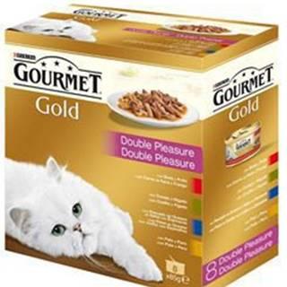 Gourmet Gold Mltp konz. kočka kousky duš.a gril.8x85g