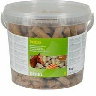 Pochúťka pre kone Delizia mrkvu 3kg vedro