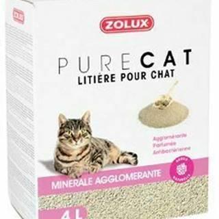 Podstielka PURECO antibacterial scent Clump 4l Zolux