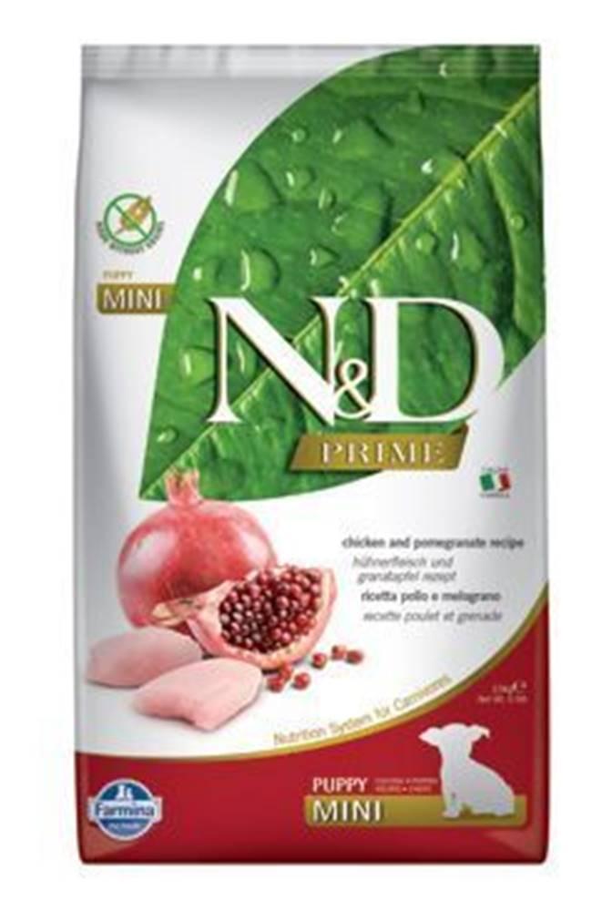 N&D N&D PRIME DOG Puppy Mini Chicken & Pomegranate 2,5kg