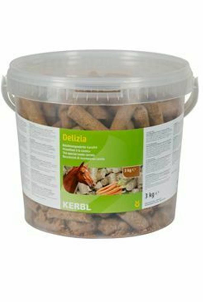 Ostatní Pochúťka pre kone Delizia mrkvu 3kg vedro
