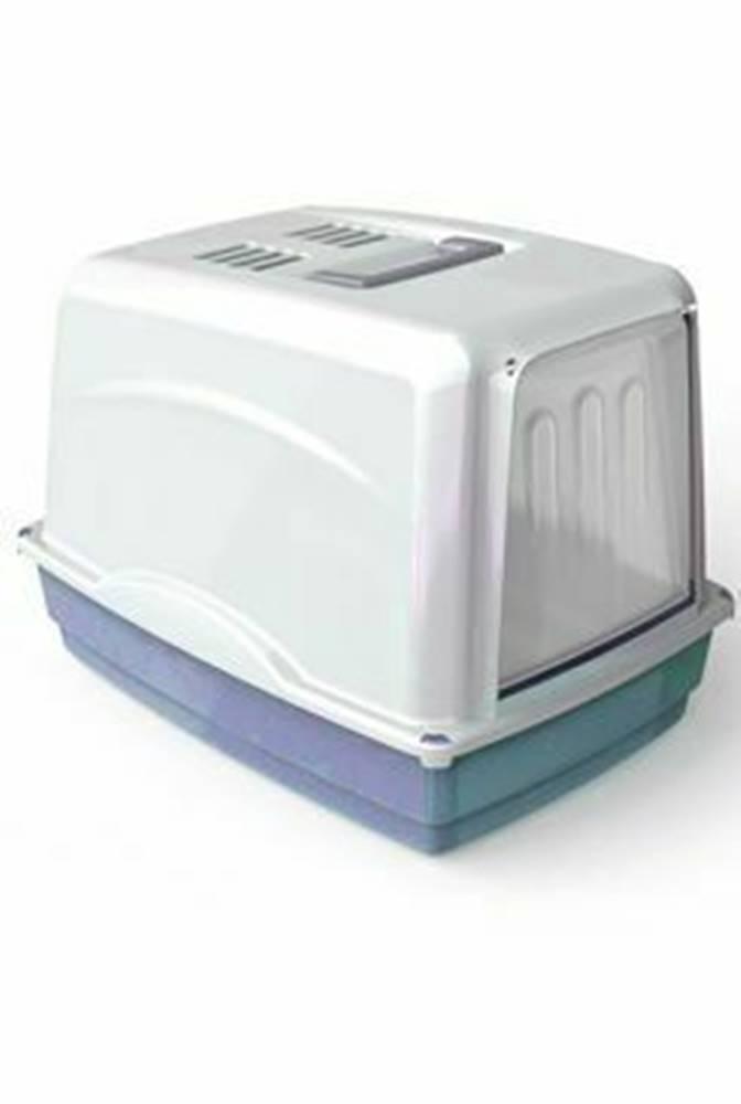 Ostatní WC mačka Vicky kryté s filtrom, 54x39x39cm-modrá