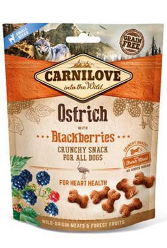 Carnilove Carnilove Dog Crunchy Snack Ostrich&Blackberries 200g
