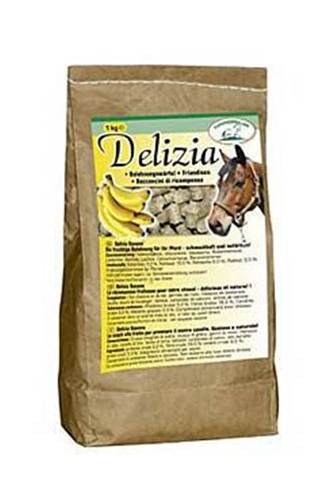 Ketris Pochoutka pro koně DELIZIA banán 1kg