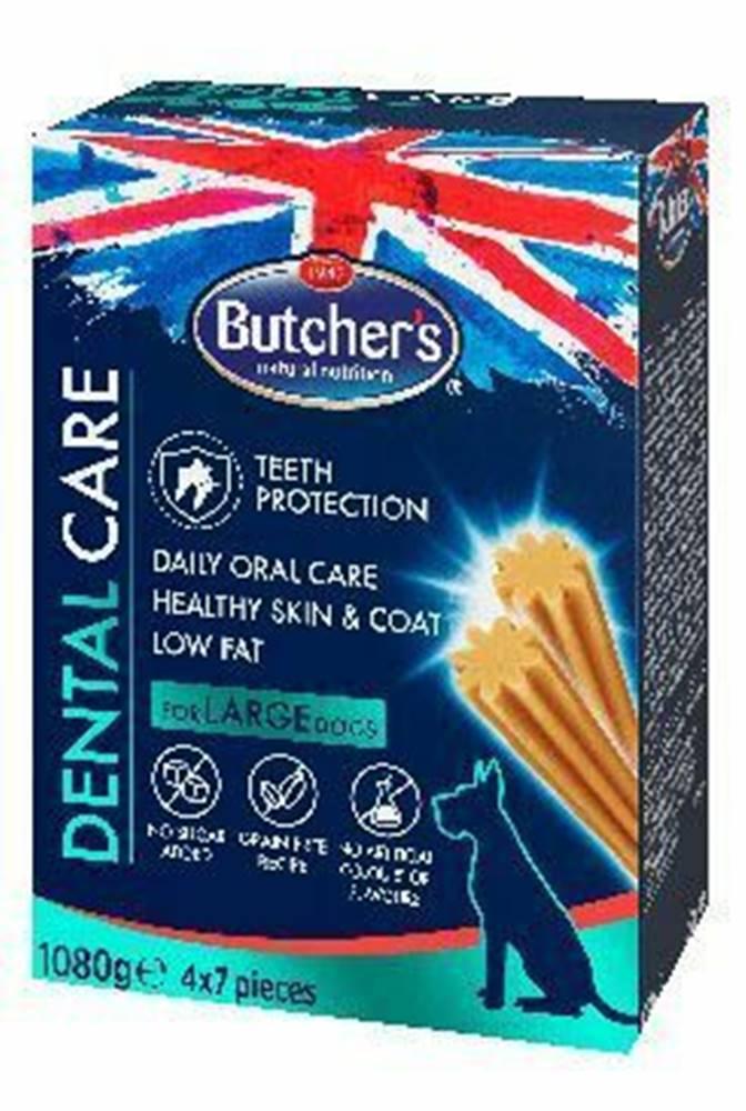 Butcher's Butcher 's Dog pochúťka Dental Care 4x270g