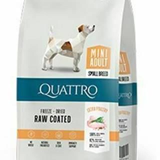 QUATTRO Dog Dry Premium Mini Adult Hydina 7kg