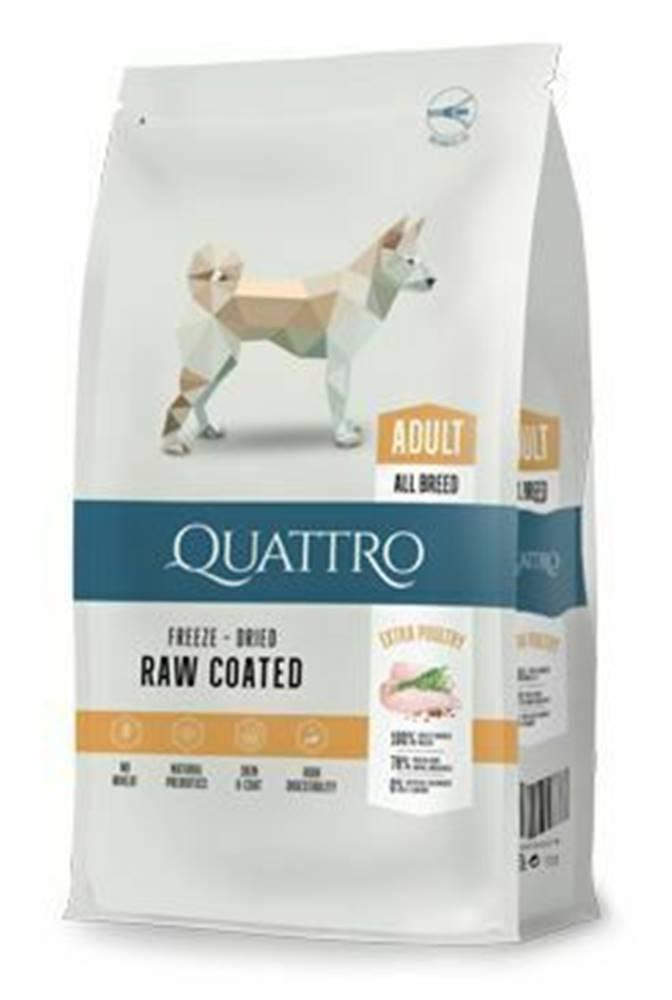 Ostatní QUATTRO Dog Dry Premium All Breed Adult Hydina 12kg