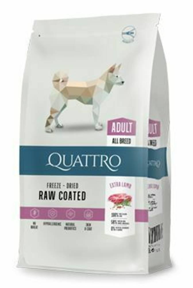Ostatní QUATTRO Dog Dry Premium All Breed Adult lamb&rice 12kg