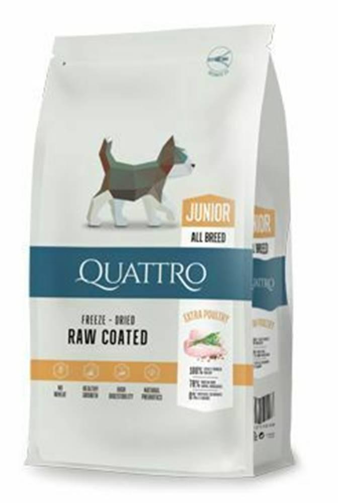 Ostatní QUATTRO Dog Dry Premium All Breed Junior Hydina 7kg