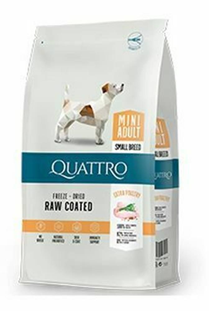 Ostatní QUATTRO Dog Dry Premium Mini Adult Hydina 1,5kg