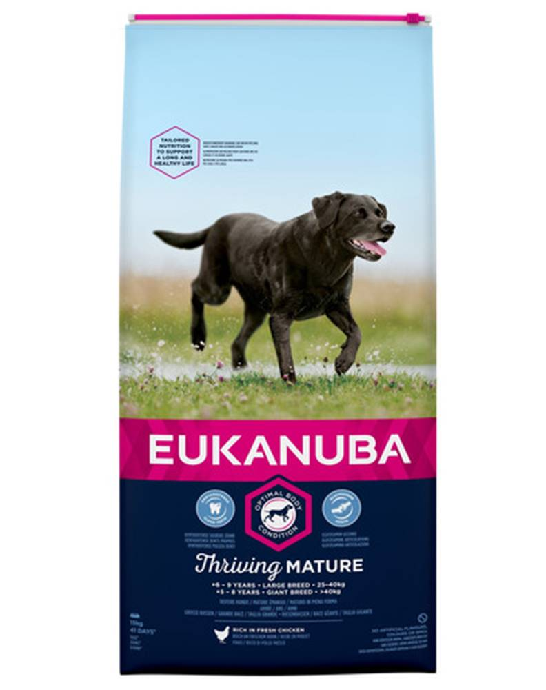 fera EUKANUBA Thriving Mature Large Breed 2 x 15kg kuracie granule