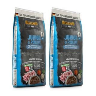BELCANDO Finest Grain Free Junior Poultry M-XL 25 kg (2x12.5 kg) granule pre šteniatka stredných a veľkých plemien