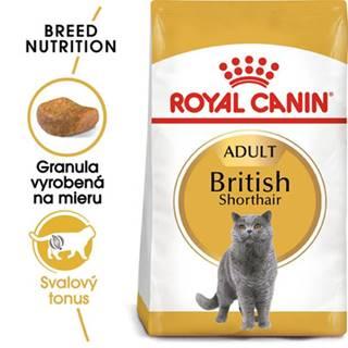 ROYAL CANIN British Shorthair Adult 10kg + kapsičky British Shorthair 12x85g