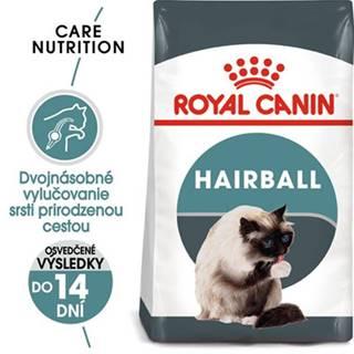ROYAL CANIN Hairball Care 2 x 10 kg granule pre mačky pre správne vylučovanie