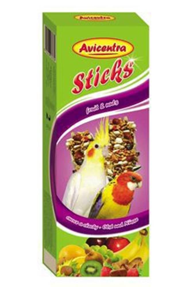 Avicentra Avicentra tyčinky malý papagáj - ovocie + orech 2ks