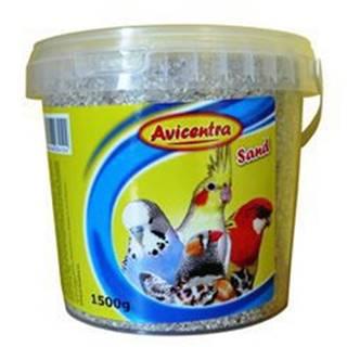Avicentra piesok pre vtáky s mušľami - 1,5 kg kýblik