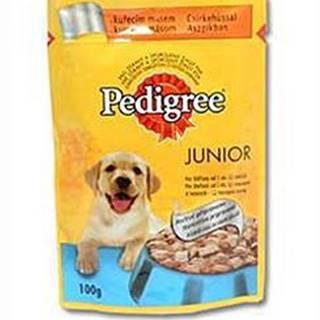 Pedigree kapsa Junior pack mix v želé 12x100g