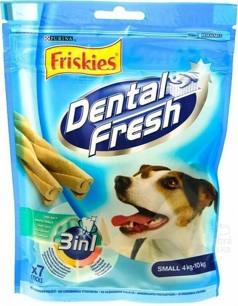 """Ostatní Friskies pochoutka pes DentalFresh 3 v 1 """"S"""" 110g"""
