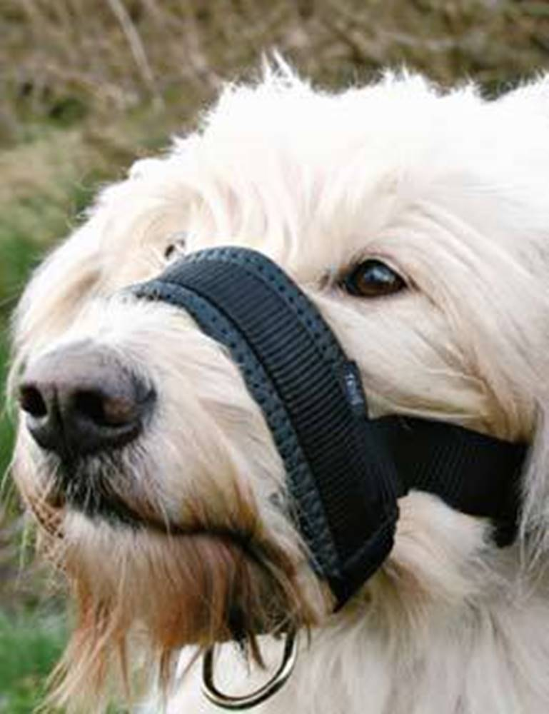 Trixie Náhubek fixační nylon podložený pes XXL 28-38cm TR