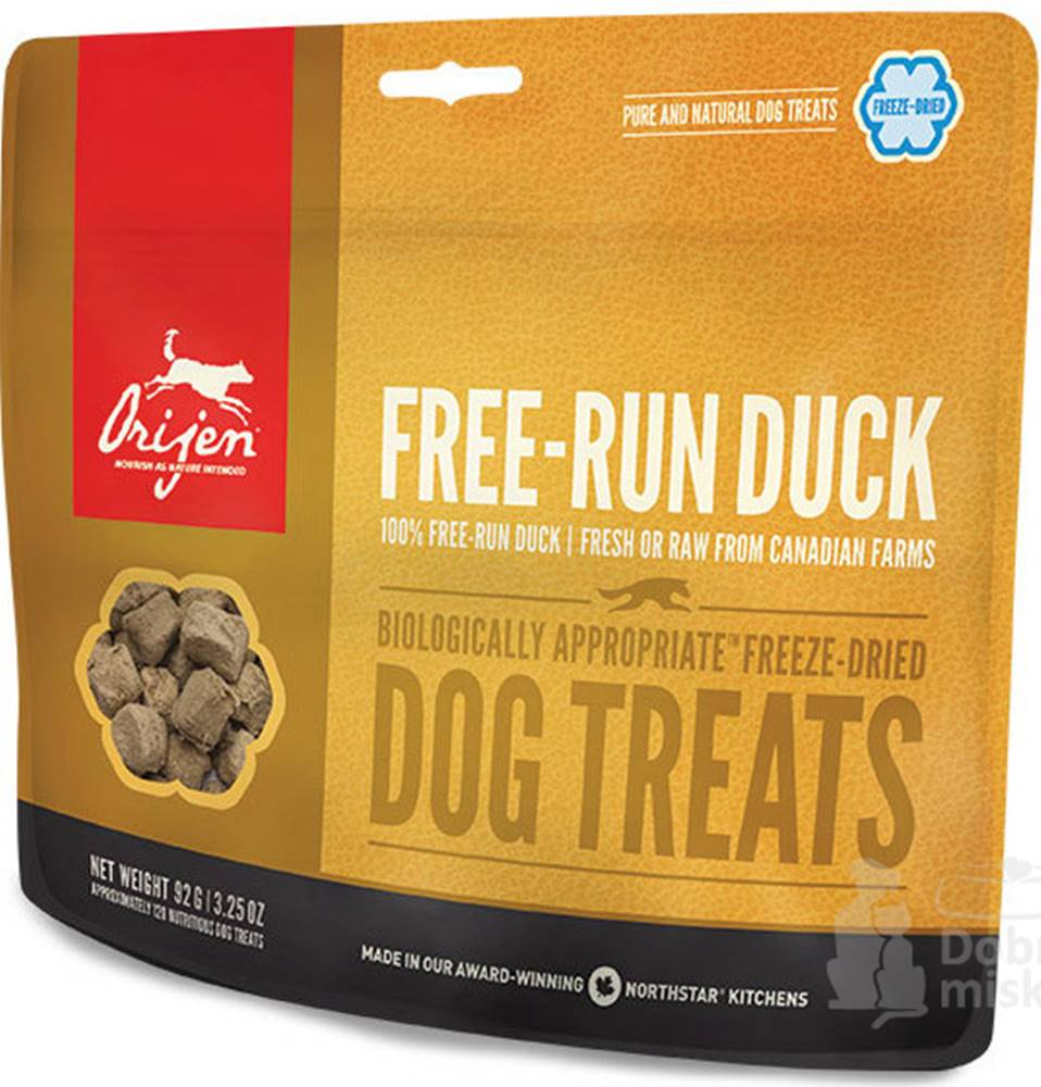 Orijen Orijen Dog  pochoutka F-D Free-Run Duck Treats 92g