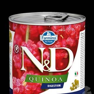 N&D DOG QUINOA Digestion Lamb & Fennel 285g