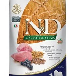 N&D LG DOG Adult M/L Lamb & Blueberry 2,5kg