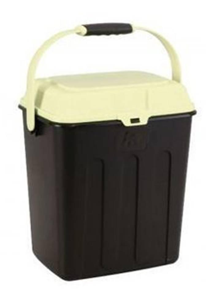 Ostatní MAELSON Box na granule čierna / slonová kosť 3,5kg