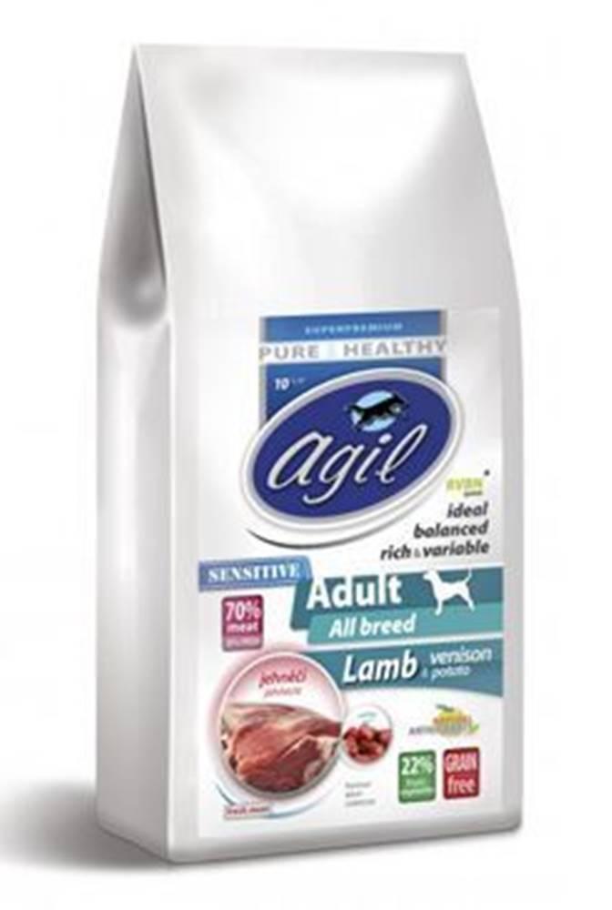 Agil Agil Adult Sensitive Grain Free Lamb,Venision 10kg
