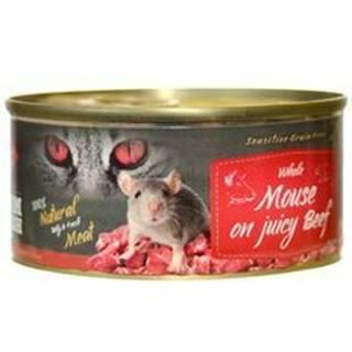 Farm Fresh Cat Whole Moon juicy Beef konzerva 100g