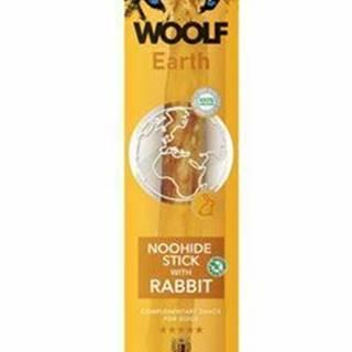Woolf pochúťka Earth NOOHIDE XL Stick with Rabbit 85g