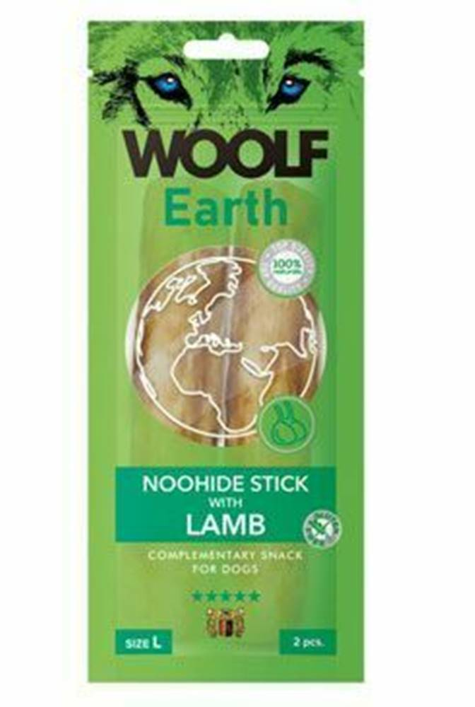Woolf Woolf pochúťka Earth NOOHIDE L Sticks with Lamb 85g