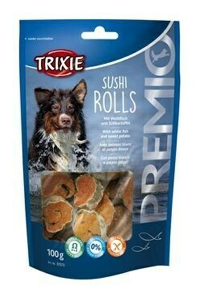 Trixie Trixie Premio SUSHI ROLLS rybí kolečka 100g TR