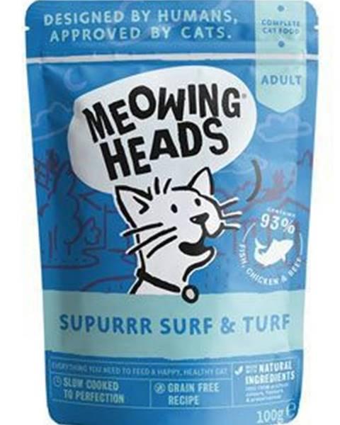 Kapsičky Meowing Heads