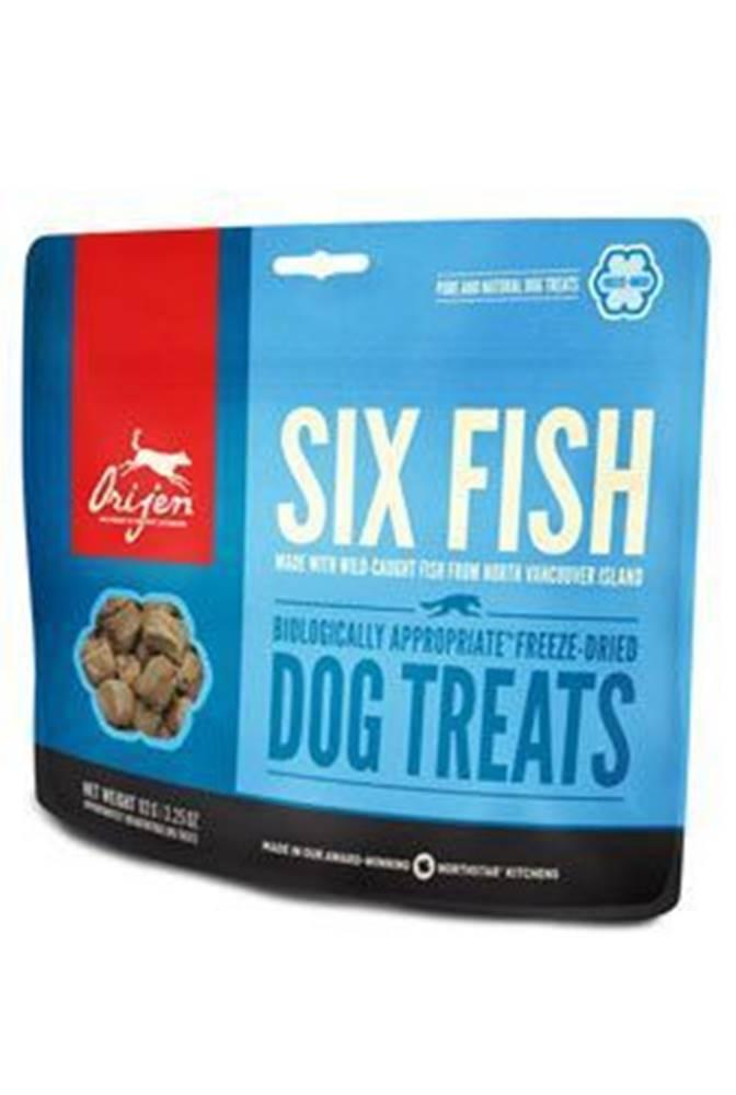 Orijen Orijen Dog  pochoutka F-D Six Fish Treats 42,5g