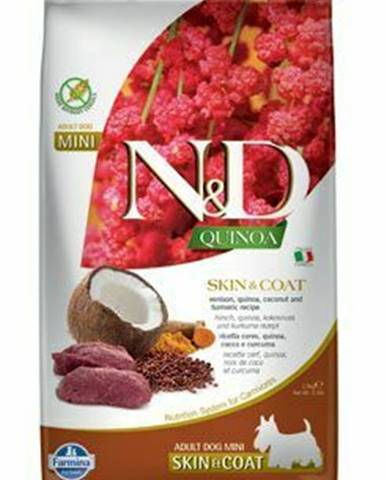N&D Quinoa DOG Skin & Coat Venison & Coconut Mini 800g