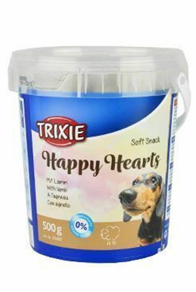 Trixie Trixie Soft Snack Happy Hearts srdíčka jehněčí 500g TR