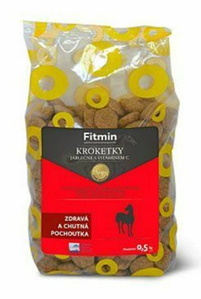 Bohemia Pet Food Fitmin horse kroketky jablko + vit.C 500g