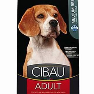 CIBAU Adult Medium 12kg+2kg ZDARMA