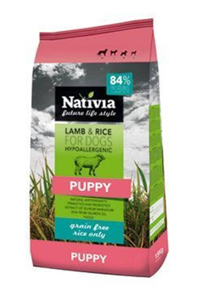 Nativia Nativia Dog Puppy Lamb&Rice 3kg
