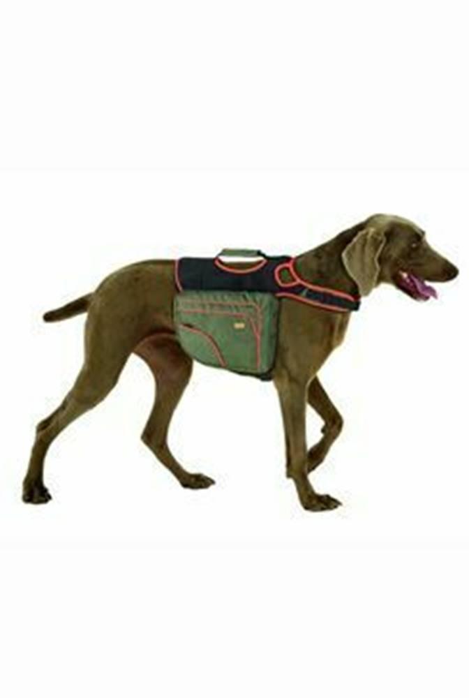 Batoh pre psov M zelená / o...