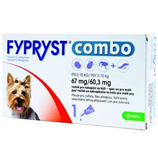 Fypryst combo spot-on 67/60,3mg pes malý 1 pip