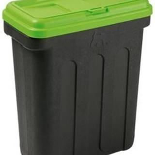 MAELSON Box na granule čierna / zelená 7,5kg