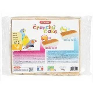 Sušienky vták Crunchy CAKE HONEY FRUITS 12ks 150g Zolux