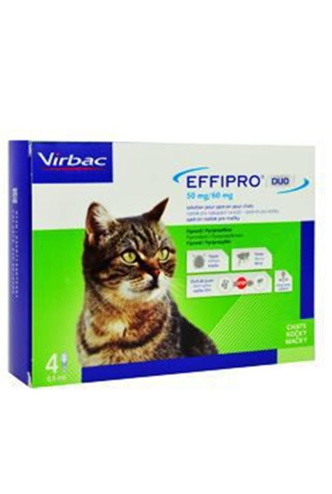 Virbac Effipro DUO Cat (1-6kg) 50/60 mg, 4x0,5ml
