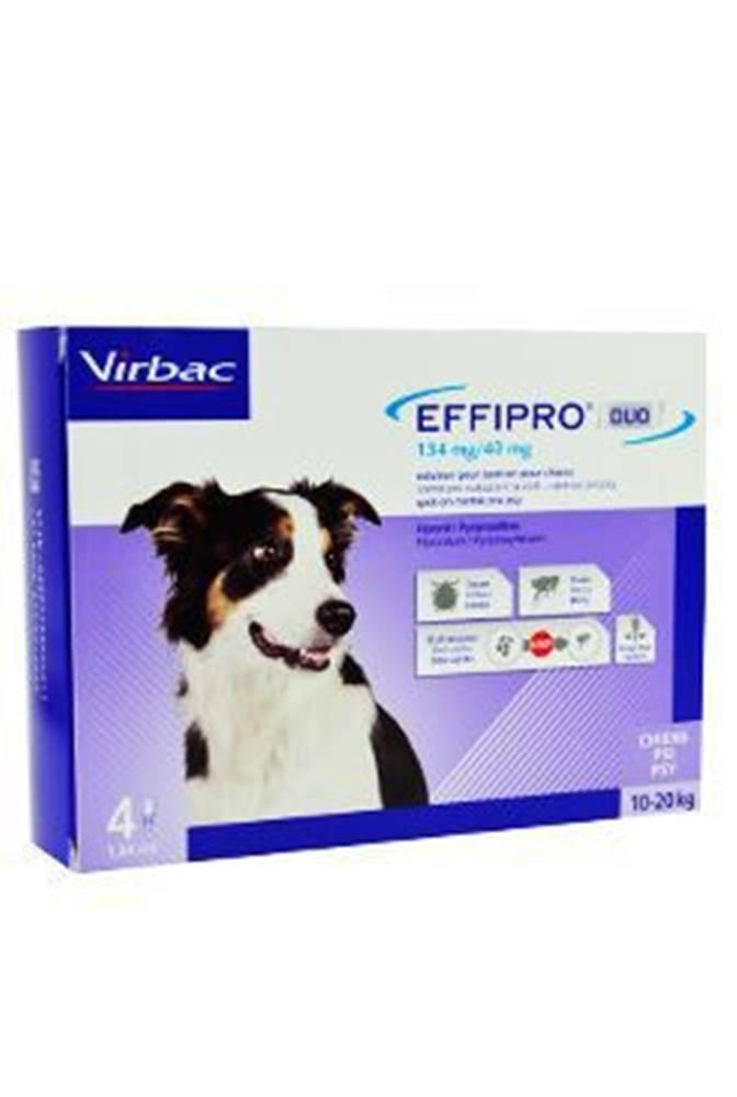 Virbac Effipro DUO Dog M (10-20kg) 134/40 mg, 4x1,34ml