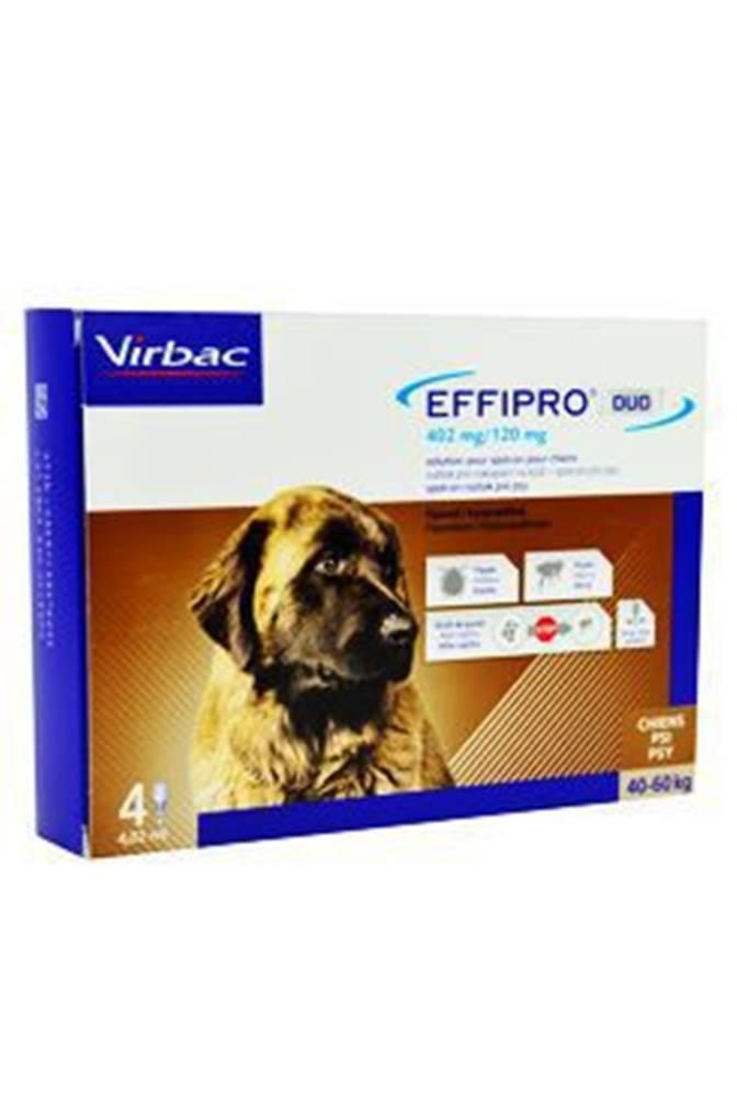 Virbac Effipro DUO Dog XL (40-60kg) 402/120 mg, 4x4,02ml