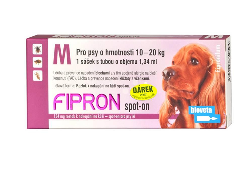 Bioveta Fipron 134mg Spot-On Dog M sol 1x1,34ml