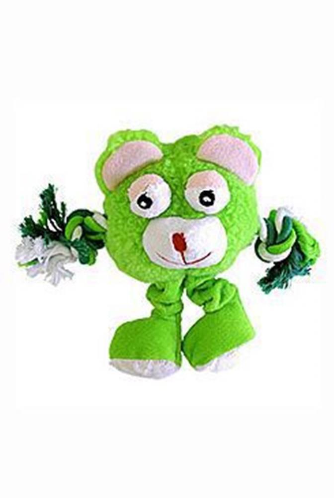 Tommi Hračka pes Trio Monster Friend zelený plyš 21cm